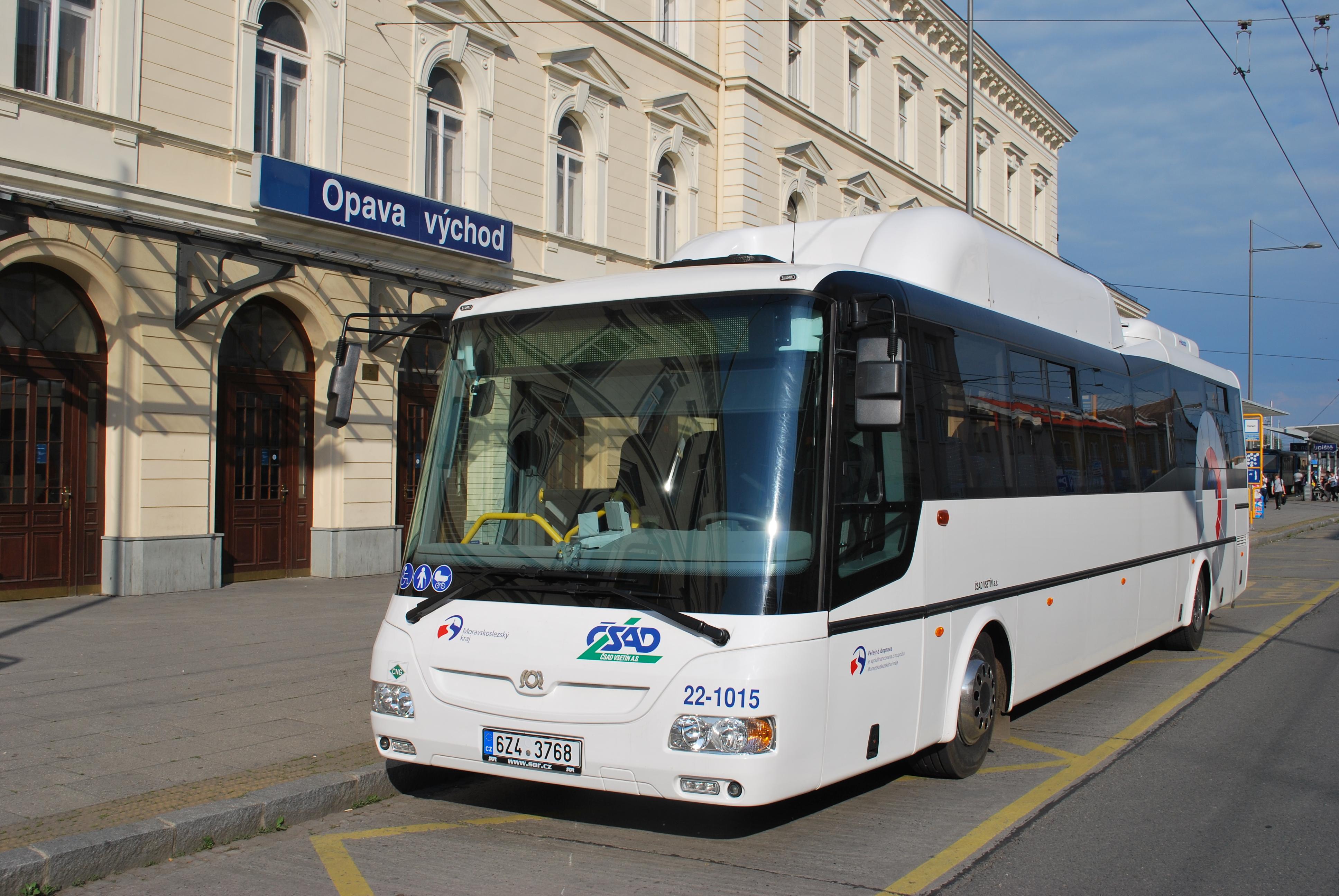 ČSAD Vsetín převezme linku Ostrava-Opava-Bruntál-Šumperk