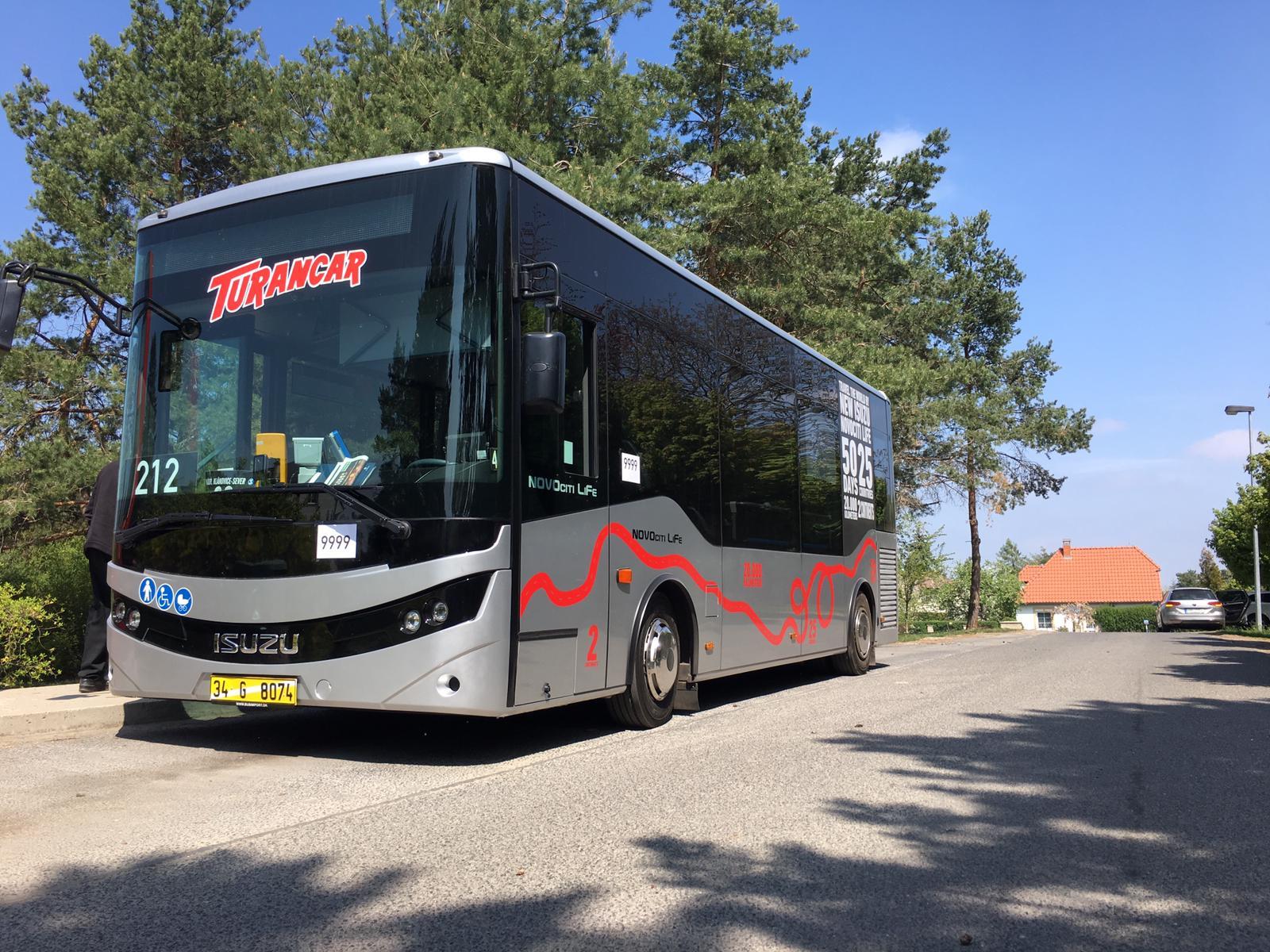 Česká premiéra midibusů ISUZU NovoCiti Life se odehraje v Kolíně